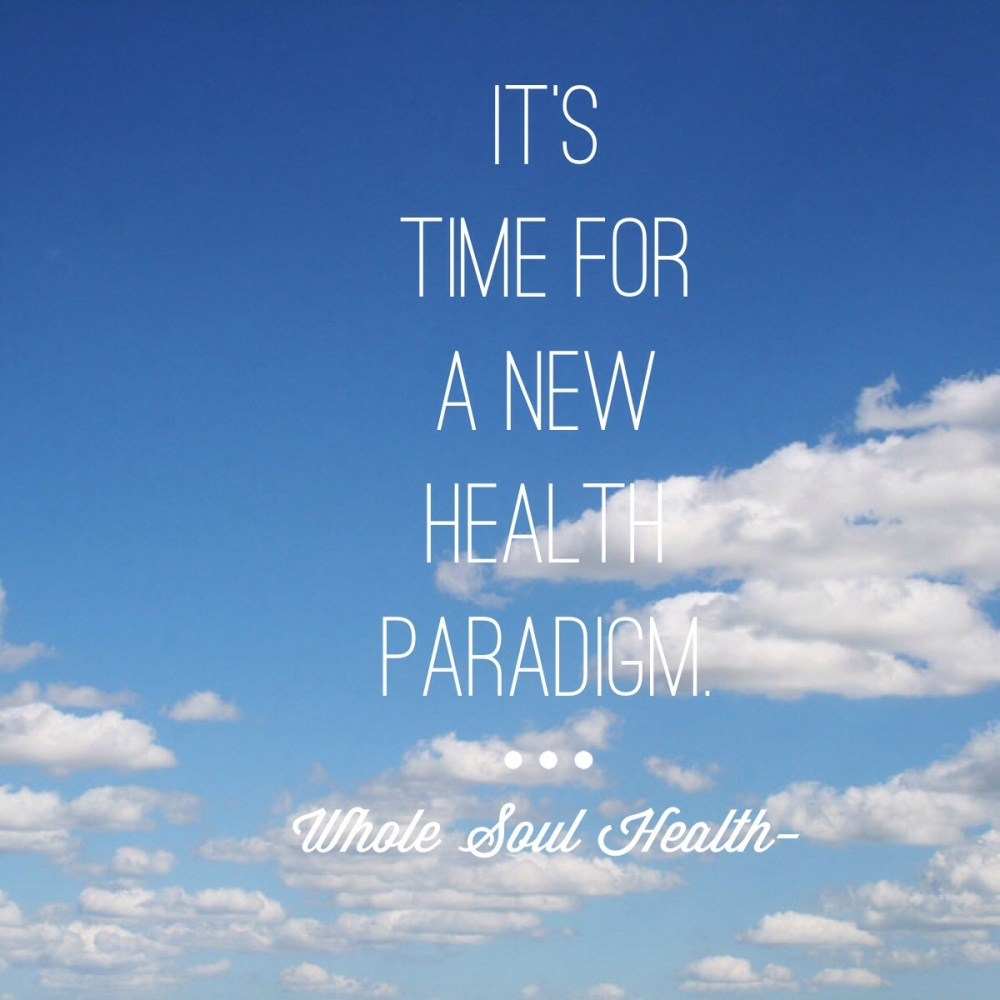 It's Time for a New Health Paradigm